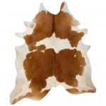 Natural Cowhide Brown & White
